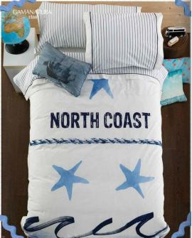FUNDA NORDICA NORTH COAST, para cama de 90